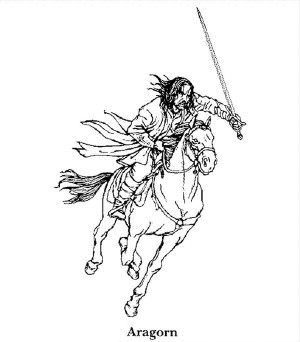 Printable Lord Of The Rings Coloring Pages