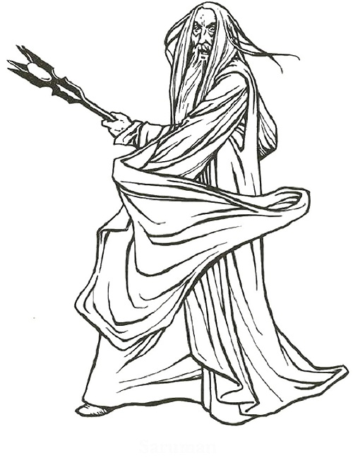 Printable Lord of the Rings Coloring Pages | Coloring Me