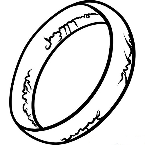 coloring pages of rings - photo#18