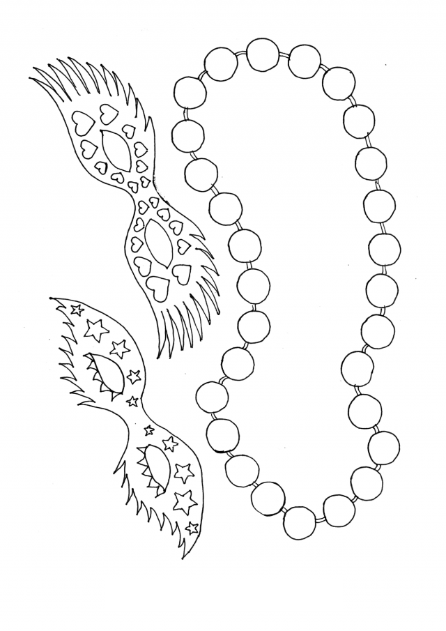 Mardi Gras Coloring Pages by Countless Smart Cookies | TpT | 905x640