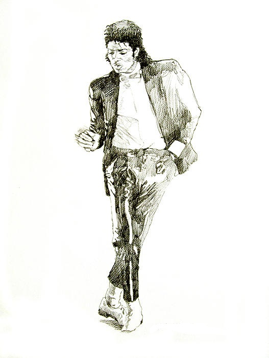 michael jackson billie jean coloring pages