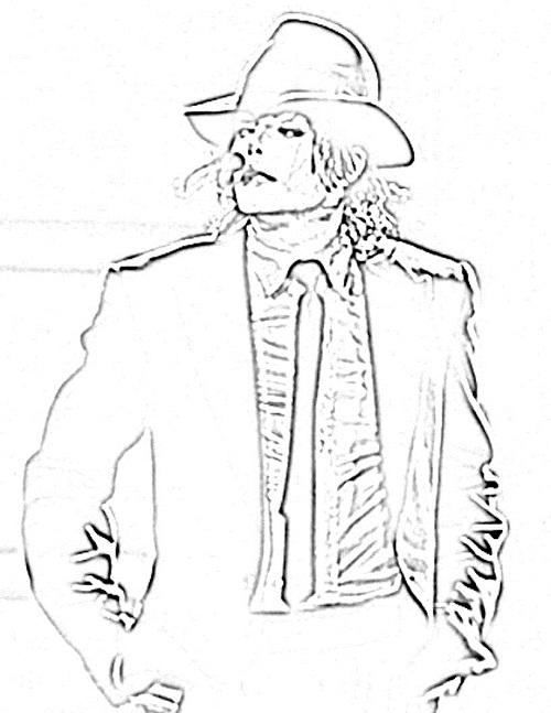 Printable Michael Jackson Coloring Pages Coloringme Com