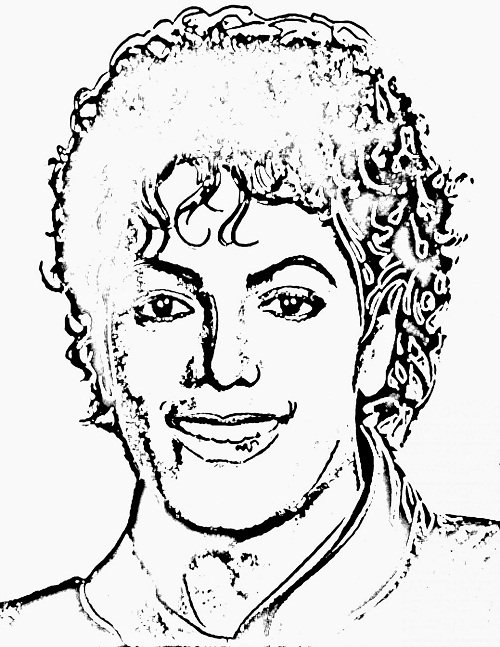 Printable Michael Jackson Coloring Pages Coloring Me