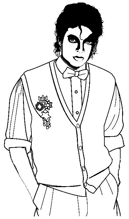 Printable Michael Jackson Coloring Pages Coloring Me Michael Jackson Coloring Pages