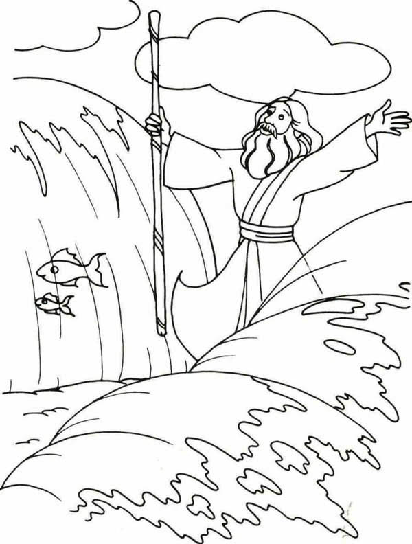 moses coloring sheets