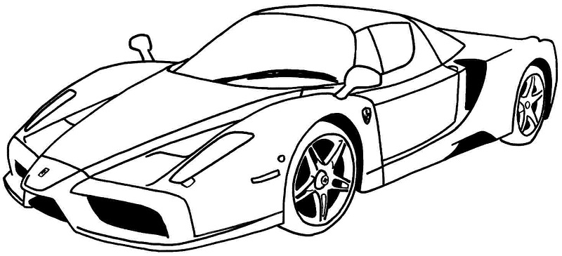 printable lamborghini coloring pages me