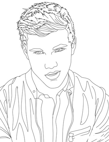Twilight Jacob Wolf Coloring Pages Coloring Pages
