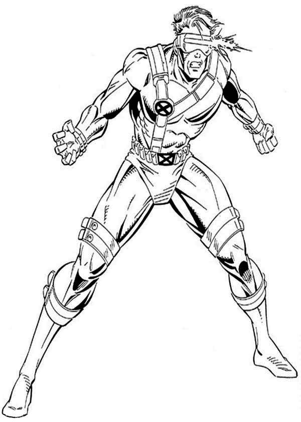 x men coloring book pages - photo #32