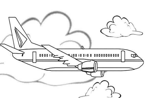airplane coloring sheets - Airplane Coloring Pages Printable