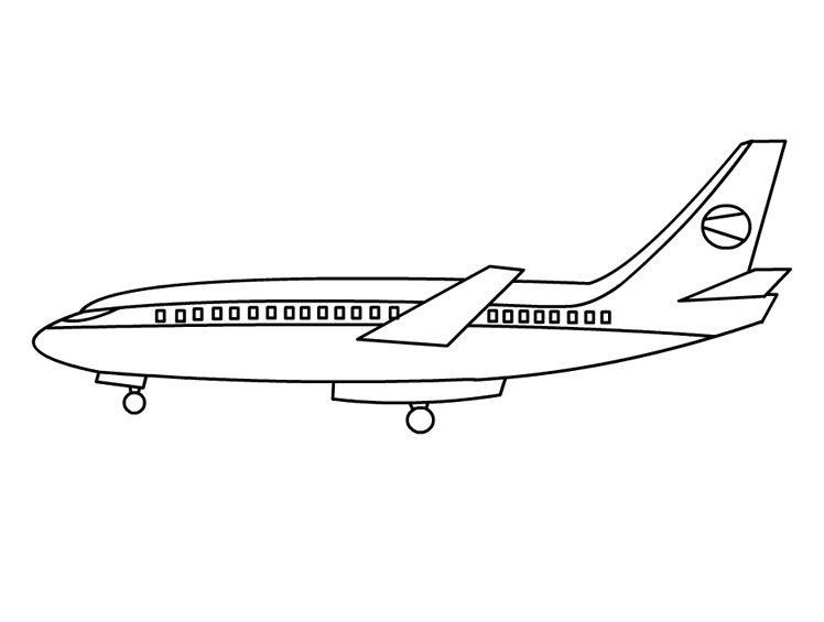 Printabe Airplane Coloring Pages  Coloring Me