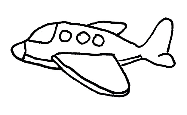 Coloring Pages Airplanes Preschool : Coloring pages airplanes preschool airplane