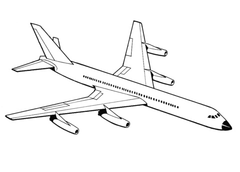 Printabe Airplane Coloring Pages | Coloring Me