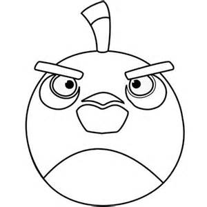 Angry Birds Colouring Pages Black Bird