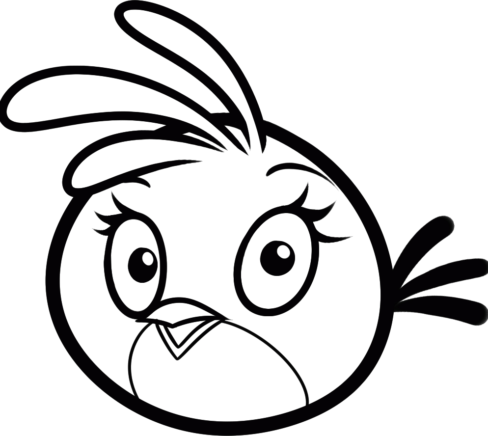 angry birds coloring pages blackbird coloring pages