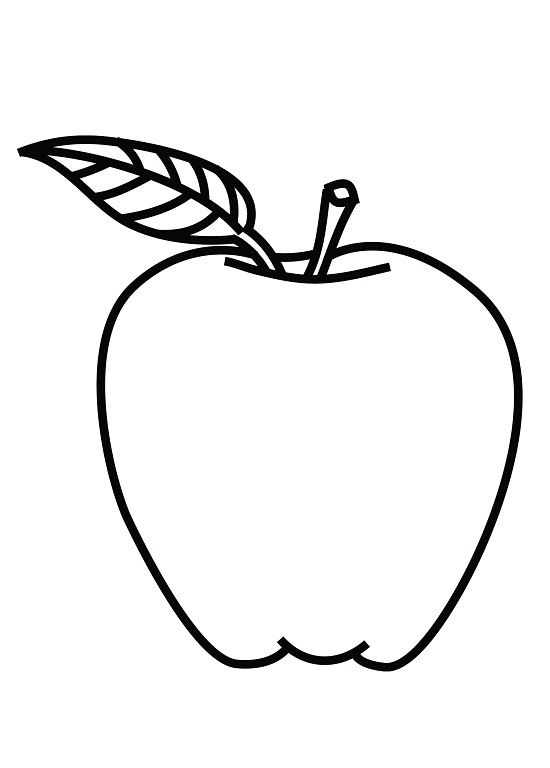 my apple book coloring pages - photo#2