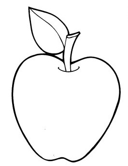 Printable Apple Coloring Pages | Coloring Me