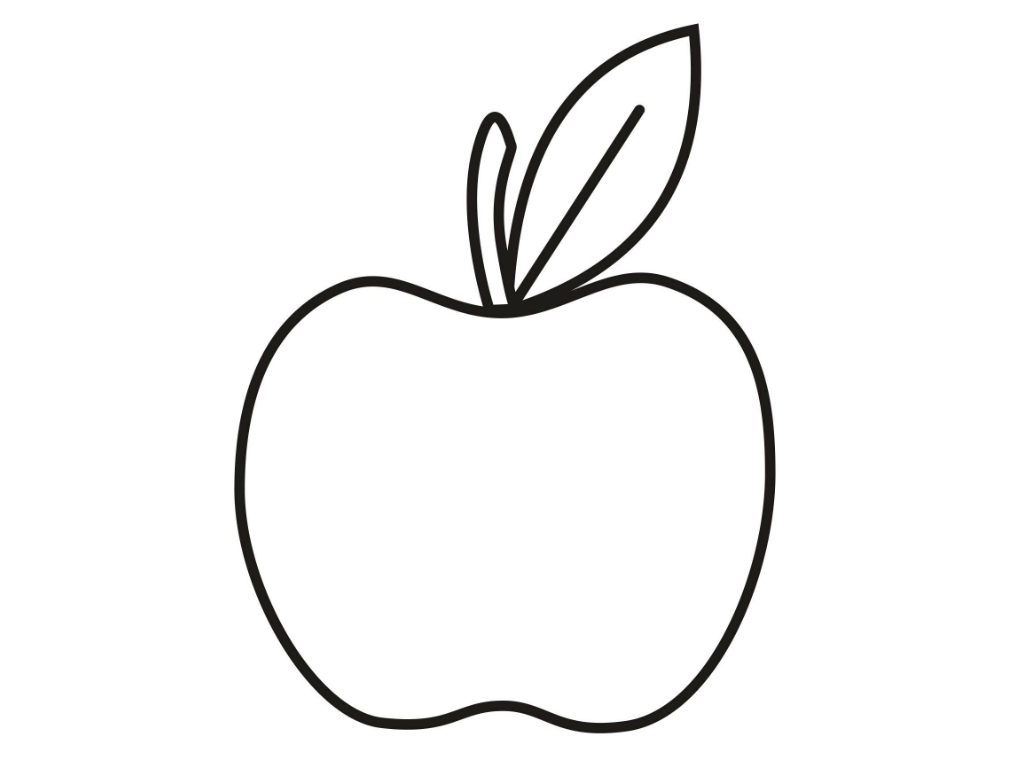 a apple coloring pages - photo #13