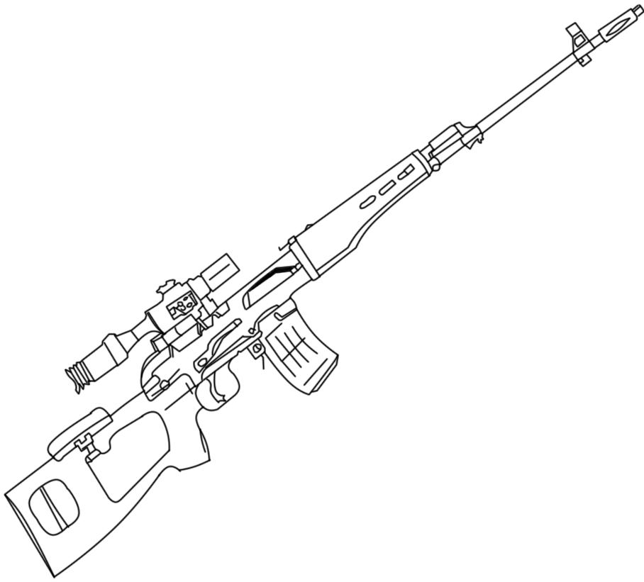 Army Gun Coloring Pages Coloringme Com