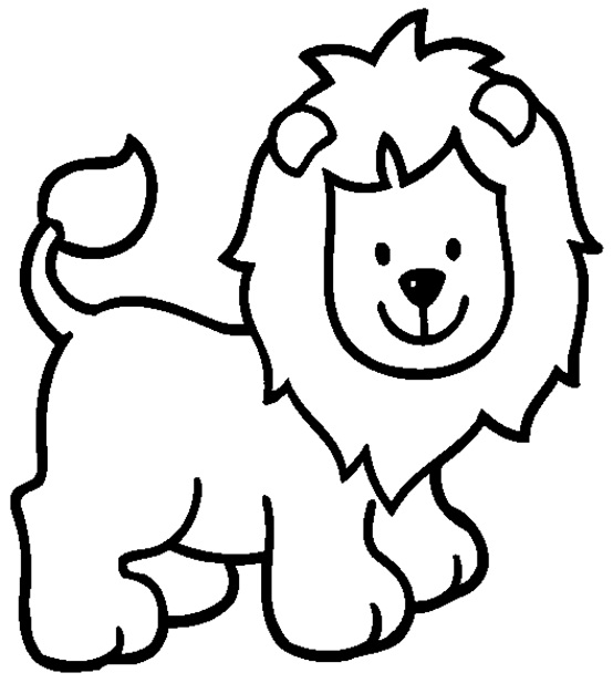 Baby Lion Coloring Pages Coloring Pages