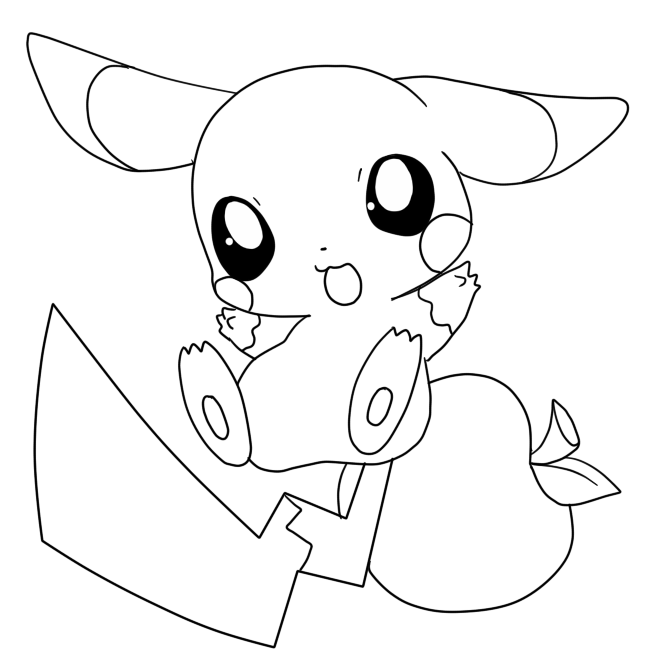 pikachu coloring sheets