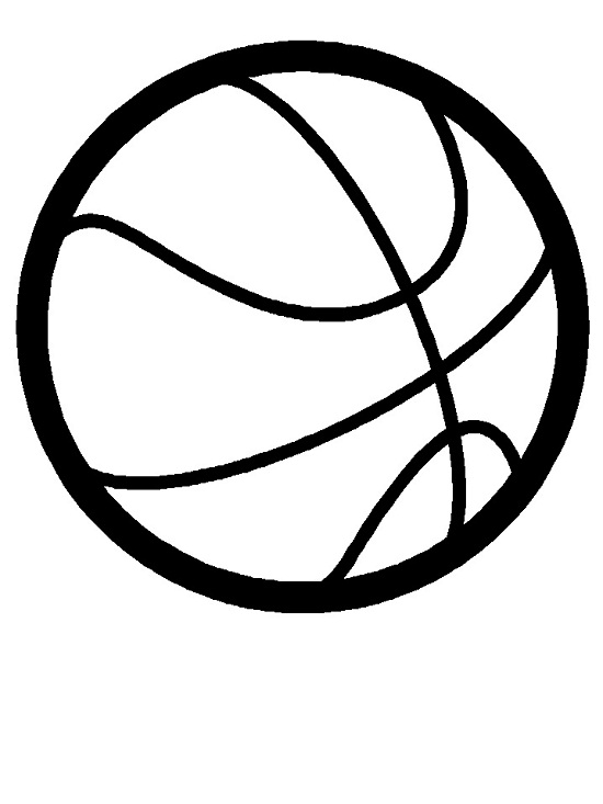 Printable Basketball Coloring Pages | Coloring Me