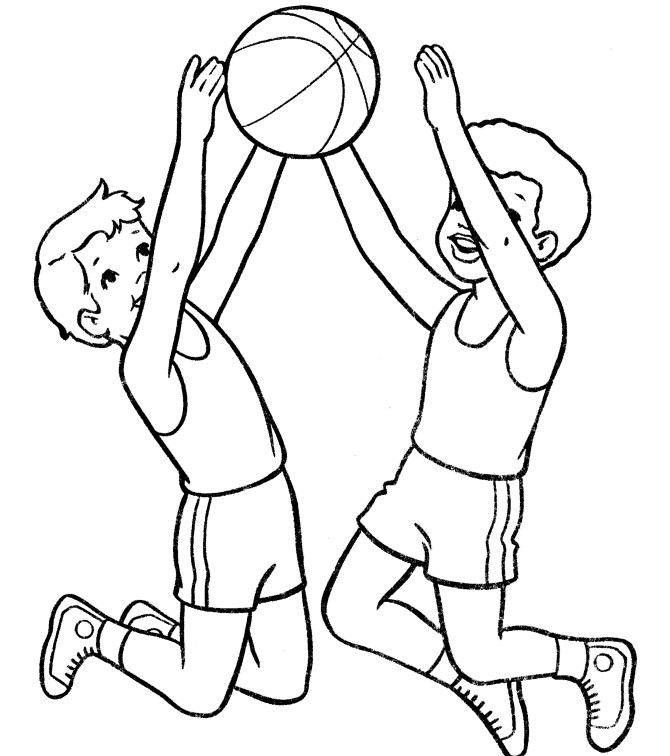 Printable Basketball Coloring Pages Coloring Me Basketball Coloring Pages Printable