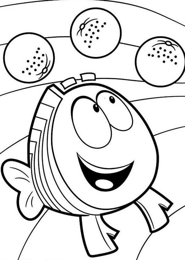 bubble guppies coloring pages oonagh - photo#11