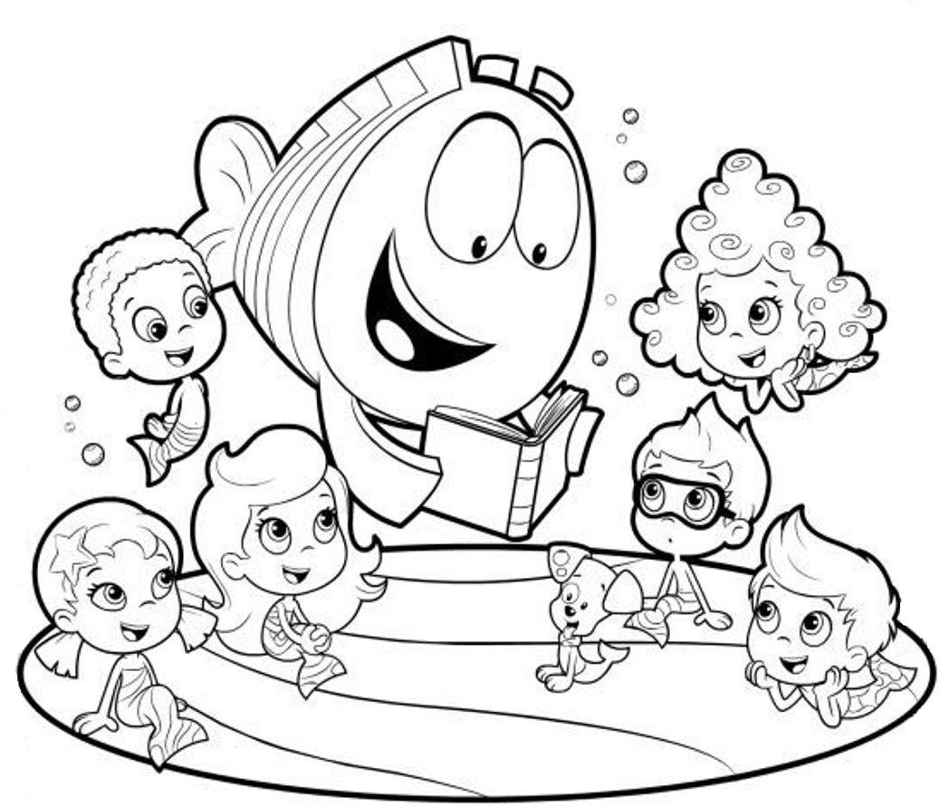 Printable Bubble Guppies Coloring Pages | ColoringMe.com