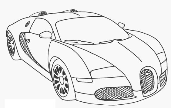 Printable Bugatti Coloring Pages Coloring Me