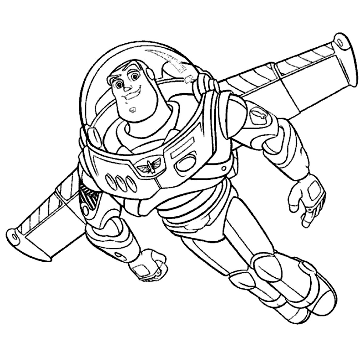 buzz lightyear coloring sheets
