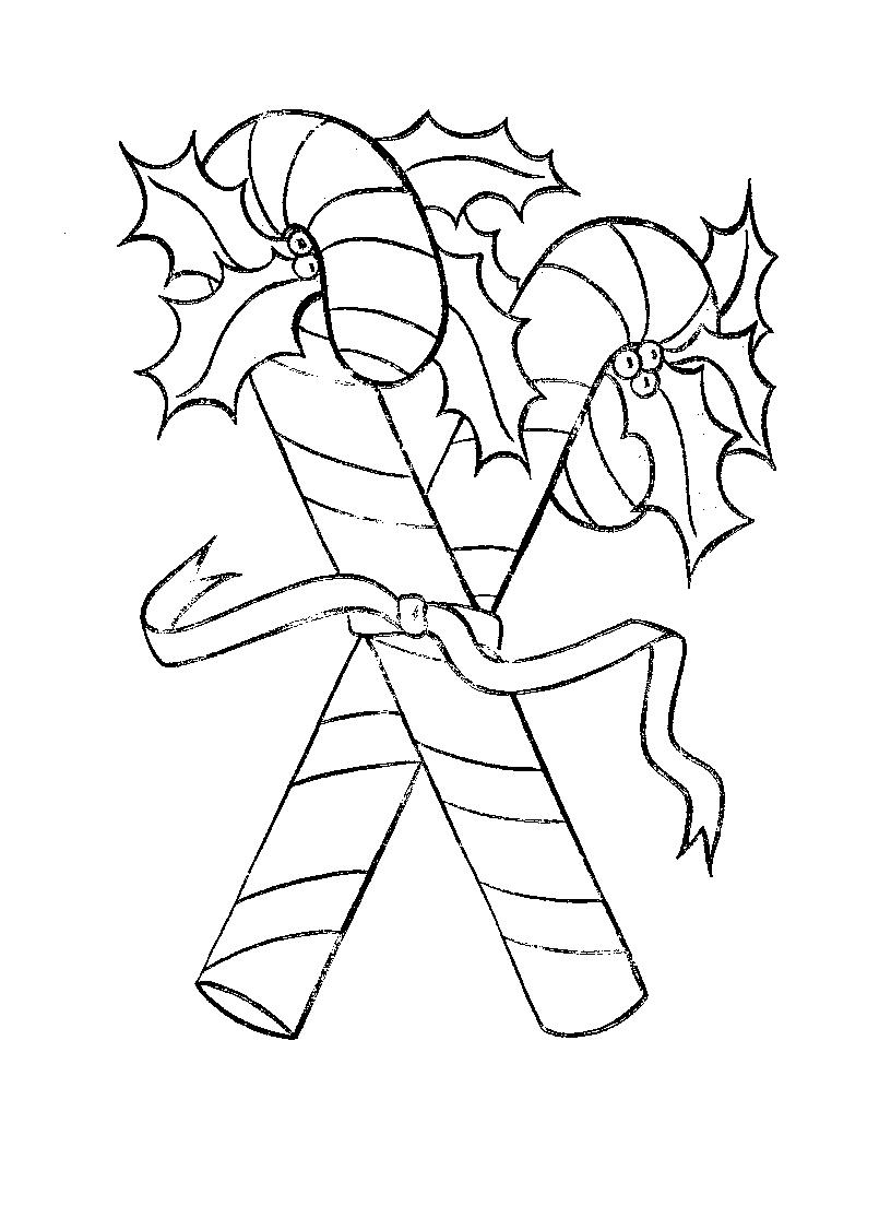 Coloring pages candy