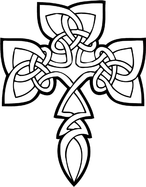 Printable Cross Coloring Pages | Coloring Me