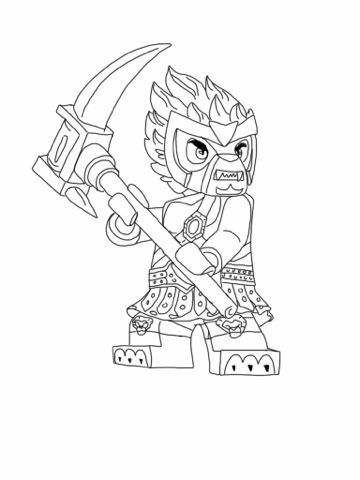 Printable Chima Coloring Pages | Coloring Me