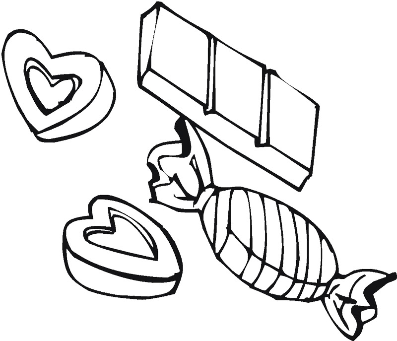 printable candy bar coloring pages - photo#5