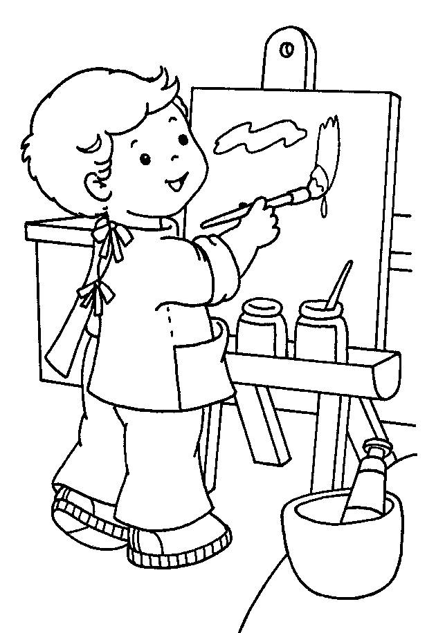 kindergarten coloring sheets - Activity Coloring Sheets