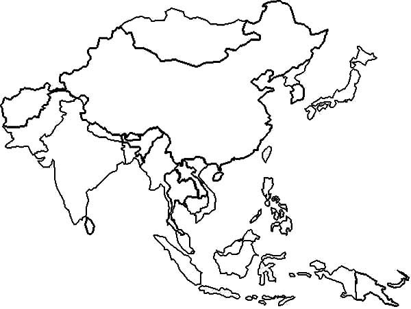 Free Printable Coloring Pages World Map Me