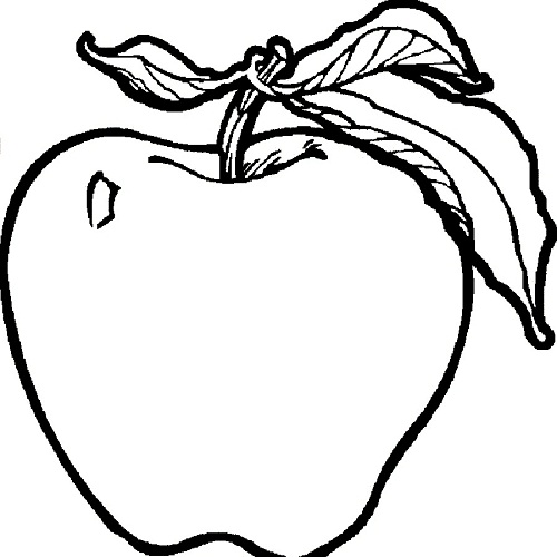 a apple coloring pages - photo #23