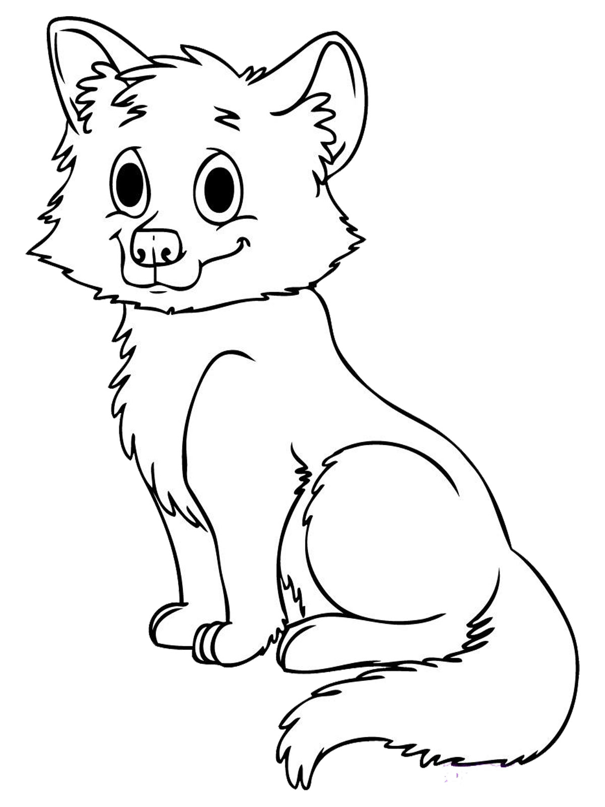 Coloring pages of wolves - Wolves Coloring Sheets