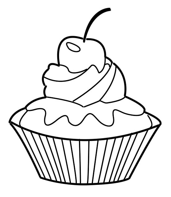 Printable Cupcake Coloring Pages Coloringme Com