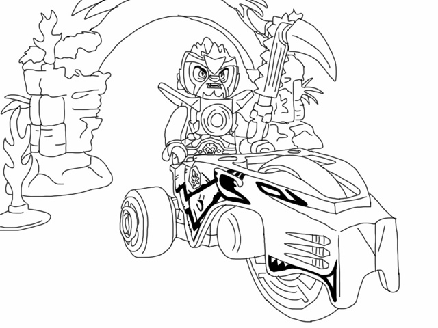 Free Printable Lego Chima Coloring Pages | Coloring Pages