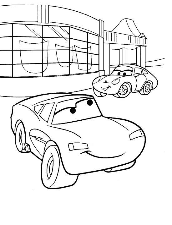Sally Carrera Coloring Pages Coloring Coloring Pages