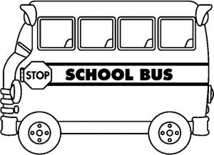 Coloring Pages School Bus | Coloring Me