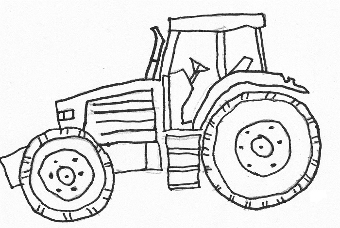 top 25 printable tractor coloring pages