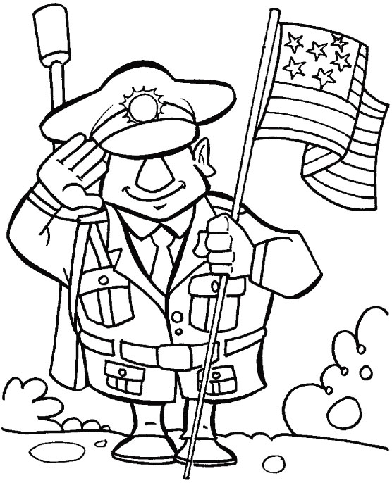 veterans day online coloring pages - photo#24