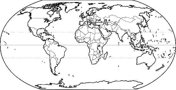 Printable World Map Coloring Pages Coloring Me