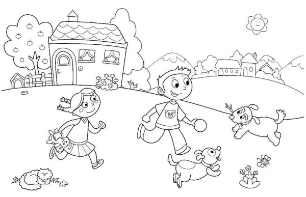 Printable Kindergarten Coloring Pages Coloring Me Coloring Pages For Kindergarten