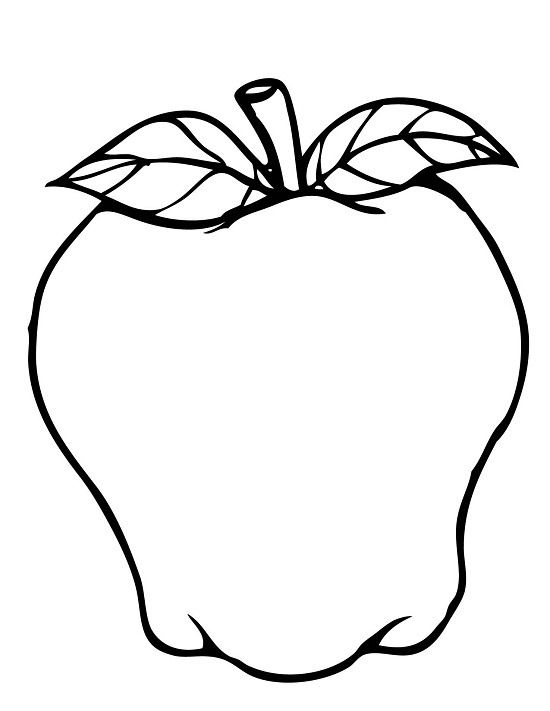 Printable Apple Coloring Pages  Coloring Me