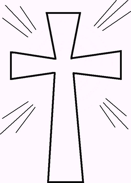cross coloring pages to print decimamas