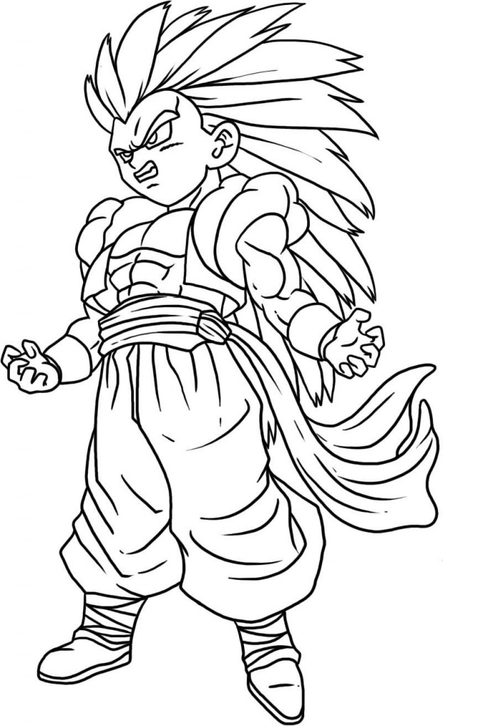 Printable Goku Coloring Pages | ColoringMe.com