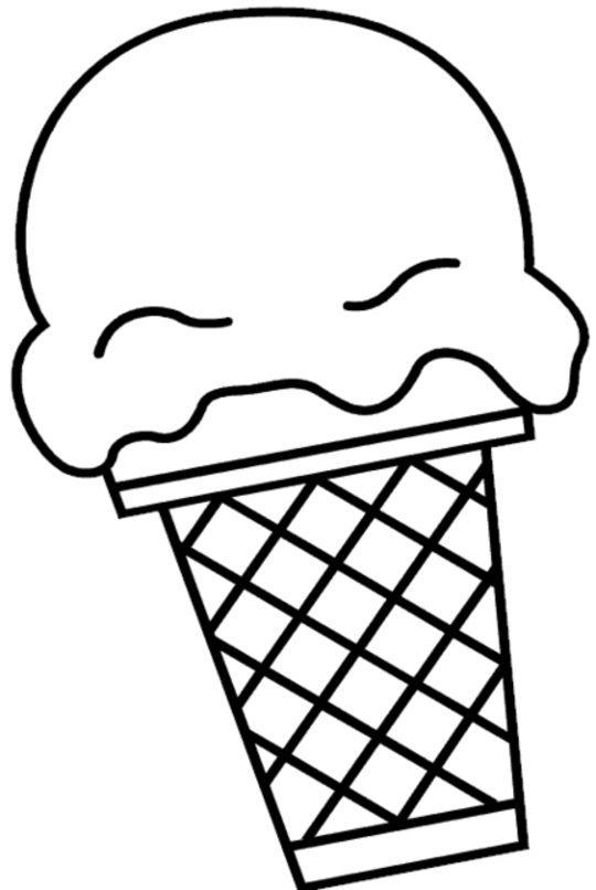Printable Ice Cream Coloring Pages | Coloring Me
